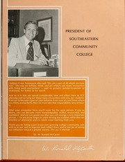 Page 9, 1978 Edition, Southeastern Community College - Ramblings Yearbook (Whiteville, NC) online yearbook collection