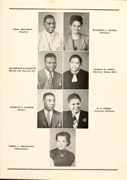 Page 13, 1949 Edition, Winston Salem State University - Ram Yearbook (Winston Salem, NC) online yearbook collection