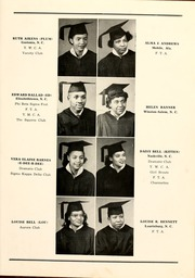 Page 17, 1949 Edition, Winston Salem State University - Ram Yearbook (Winston Salem, NC) online yearbook collection