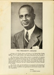 Page 10, 1953 Edition, Winston Salem State University - Ram Yearbook (Winston Salem, NC) online yearbook collection