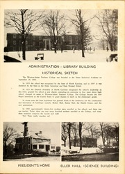 Page 11, 1953 Edition, Winston Salem State University - Ram Yearbook (Winston Salem, NC) online yearbook collection