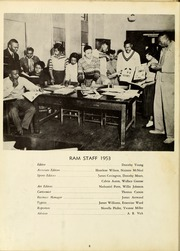 Page 12, 1953 Edition, Winston Salem State University - Ram Yearbook (Winston Salem, NC) online yearbook collection