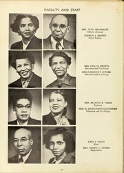 Page 14, 1953 Edition, Winston Salem State University - Ram Yearbook (Winston Salem, NC) online yearbook collection
