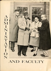 Page 13, 1957 Edition, Winston Salem State University - Ram Yearbook (Winston Salem, NC) online yearbook collection