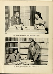 Page 14, 1957 Edition, Winston Salem State University - Ram Yearbook (Winston Salem, NC) online yearbook collection