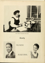 Page 16, 1957 Edition, Winston Salem State University - Ram Yearbook (Winston Salem, NC) online yearbook collection