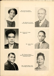 Page 17, 1957 Edition, Winston Salem State University - Ram Yearbook (Winston Salem, NC) online yearbook collection