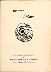 Page 5, 1957 Edition, Winston Salem State University - Ram Yearbook (Winston Salem, NC) online yearbook collection