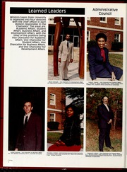 Page 10, 1986 Edition, Winston Salem State University - Ram Yearbook (Winston Salem, NC) online yearbook collection