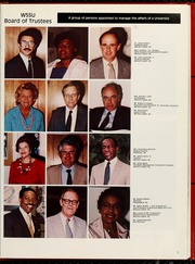 Page 11, 1986 Edition, Winston Salem State University - Ram Yearbook (Winston Salem, NC) online yearbook collection