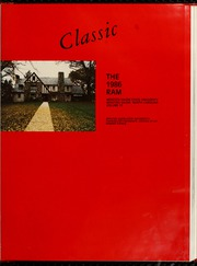 Page 5, 1986 Edition, Winston Salem State University - Ram Yearbook (Winston Salem, NC) online yearbook collection