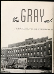 Page 6, 1948 Edition, Wake Forest School of Medicine - Gray Matter Yearbook (Winston Salem, NC) online yearbook collection