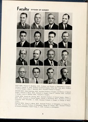 Page 12, 1954 Edition, Wake Forest School of Medicine - Gray Matter Yearbook (Winston Salem, NC) online yearbook collection