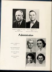Page 8, 1954 Edition, Wake Forest School of Medicine - Gray Matter Yearbook (Winston Salem, NC) online yearbook collection