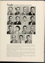 Page 9, 1954 Edition, Wake Forest School of Medicine - Gray Matter Yearbook (Winston Salem, NC) online yearbook collection