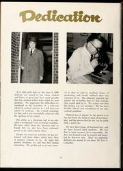 Page 14, 1956 Edition, Wake Forest School of Medicine - Gray Matter Yearbook (Winston Salem, NC) online yearbook collection
