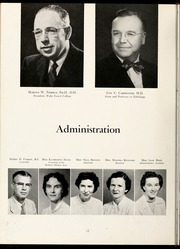 Page 16, 1956 Edition, Wake Forest School of Medicine - Gray Matter Yearbook (Winston Salem, NC) online yearbook collection