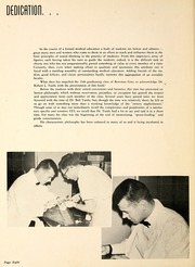 Page 12, 1958 Edition, Wake Forest School of Medicine - Gray Matter Yearbook (Winston Salem, NC) online yearbook collection