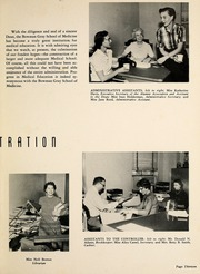 Page 17, 1958 Edition, Wake Forest School of Medicine - Gray Matter Yearbook (Winston Salem, NC) online yearbook collection