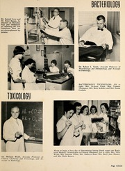 Page 19, 1958 Edition, Wake Forest School of Medicine - Gray Matter Yearbook (Winston Salem, NC) online yearbook collection
