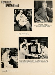 Page 21, 1958 Edition, Wake Forest School of Medicine - Gray Matter Yearbook (Winston Salem, NC) online yearbook collection