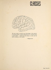 Page 35, 1958 Edition, Wake Forest School of Medicine - Gray Matter Yearbook (Winston Salem, NC) online yearbook collection