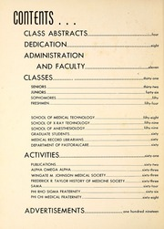 Page 6, 1958 Edition, Wake Forest School of Medicine - Gray Matter Yearbook (Winston Salem, NC) online yearbook collection