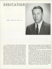 Page 8, 1966 Edition, Wake Forest School of Medicine - Gray Matter Yearbook (Winston Salem, NC) online yearbook collection