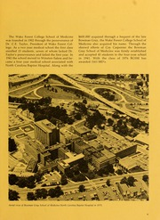 Page 13, 1976 Edition, Wake Forest School of Medicine - Gray Matter Yearbook (Winston Salem, NC) online yearbook collection