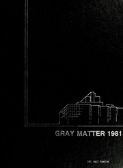 1981 Edition, Wake Forest School of Medicine - Gray Matter Yearbook (Winston Salem, NC)