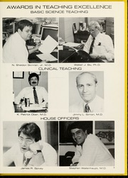 Page 9, 1983 Edition, Wake Forest School of Medicine - Gray Matter Yearbook (Winston Salem, NC) online yearbook collection
