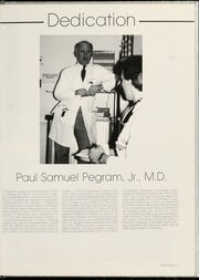 Page 9, 1988 Edition, Wake Forest School of Medicine - Gray Matter Yearbook (Winston Salem, NC) online yearbook collection