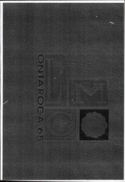 1965 Edition, Lees McRae College - Ontaroga Yearbook (Banner Elk, NC)