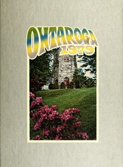 1979 Edition, Lees McRae College - Ontaroga Yearbook (Banner Elk, NC)
