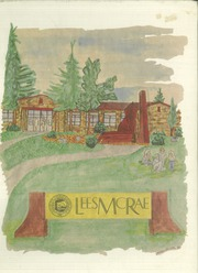 1986 Edition, Lees McRae College - Ontaroga Yearbook (Banner Elk, NC)