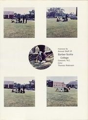 Page 5, 1970 Edition, Barber Scotia College - Saber Yearbook (Concord, NC) online yearbook collection