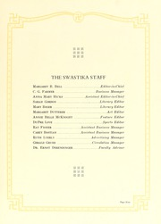 Page 13, 1927 Edition, Catawba College - Sayakini / Swastika Yearbook (Salisbury, NC) online yearbook collection