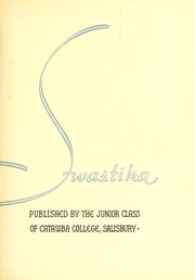 Page 7, 1936 Edition, Catawba College - Sayakini / Swastika Yearbook (Salisbury, NC) online yearbook collection