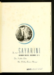 Page 5, 1947 Edition, Catawba College - Sayakini / Swastika Yearbook (Salisbury, NC) online yearbook collection