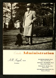 Page 14, 1949 Edition, Catawba College - Sayakini / Swastika Yearbook (Salisbury, NC) online yearbook collection