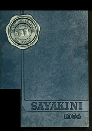 Catawba College - Sayakini / Swastika Yearbook (Salisbury, NC) online yearbook collection, 1954 Edition, Page 1