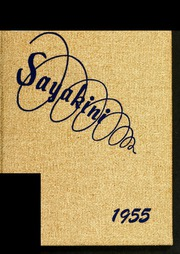 Catawba College - Sayakini / Swastika Yearbook (Salisbury, NC) online yearbook collection, 1955 Edition, Page 1