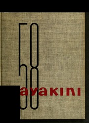 1958 Edition, Catawba College - Sayakini Yearbook (Salisbury, NC)