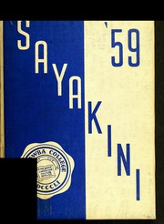 Catawba College - Sayakini / Swastika Yearbook (Salisbury, NC) online yearbook collection, 1959 Edition, Page 1
