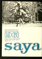 Page 10, 1961 Edition, Catawba College - Sayakini / Swastika Yearbook (Salisbury, NC) online yearbook collection