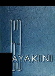 1963 Edition, Catawba College - Sayakini Yearbook (Salisbury, NC)