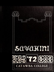 1972 Edition, Catawba College - Sayakini Yearbook (Salisbury, NC)