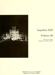 Page 5, 1978 Edition, Catawba College - Sayakini / Swastika Yearbook (Salisbury, NC) online yearbook collection
