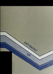 1984 Edition, Catawba College - Sayakini / Swastika Yearbook (Salisbury, NC)
