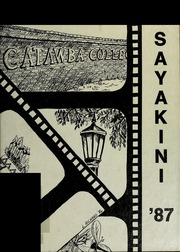 1987 Edition, Catawba College - Sayakini / Swastika Yearbook (Salisbury, NC)